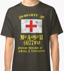 Property Of Mash 4077th Classic T-Shirt