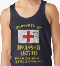 Property Of Mash 4077th Tank Top