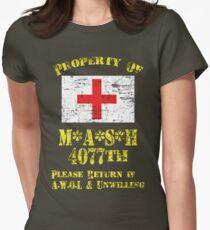 Camiseta entallada Propiedad de Mash 4077a