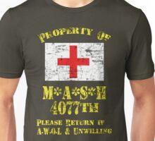 Property Of Mash 4077th Unisex T-Shirt