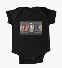 5 Shades of Dalek Kids Clothes