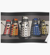 5 Shades of Dalek Poster