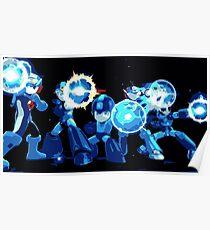 Mega-Man Generations Poster