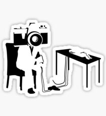 Camera's Don't Lie Sticker