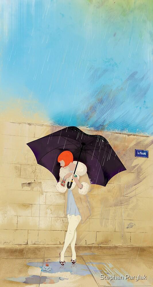 Rainy Day Flower by Stephan Parylak