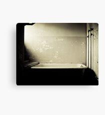 Bath Tub Canvas Print