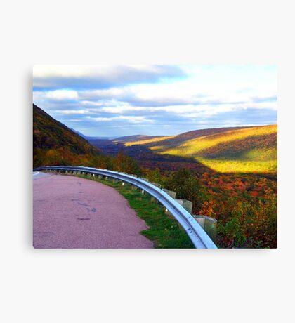 Golden Glow of Autumn Canvas Print