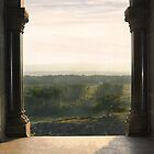 View From A Castle by Kelly Chiara