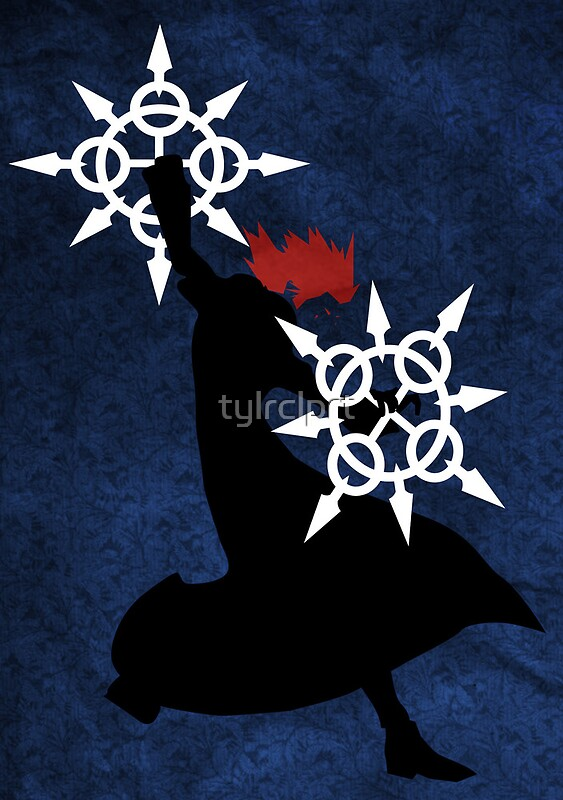 Quot Axel Kingdom Hearts Quot Posters By Tylrclprt Redbubble