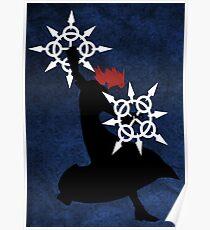 Axel - Kingdom Hearts Poster