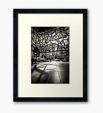 Melbourne Atrium Afternoon Sun Framed Print