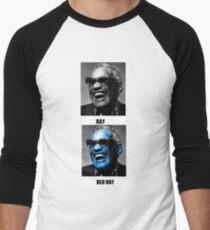 Blue Ray Men's Baseball ¾ T-Shirt