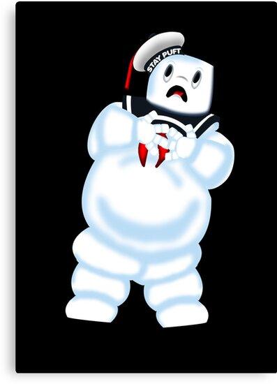 Scared Mr. Stay Puft. by joshjen10