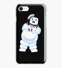 Scared Mr. Stay Puft. iPhone Case/Skin