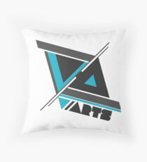 Visionary Abstract Throw Pillow