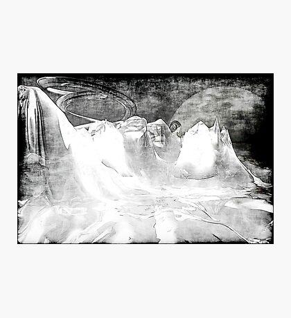 White World Photographic Print