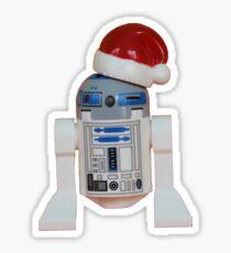 R2-D2 Santa Sticker