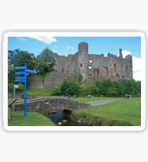 Laugharne Castle Sticker