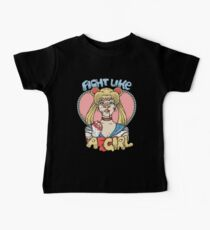 Sailor Moon- Fight Like a Girl Baby Tee