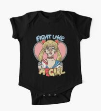 Sailor Moon- Fight Like a Girl Kids Clothes