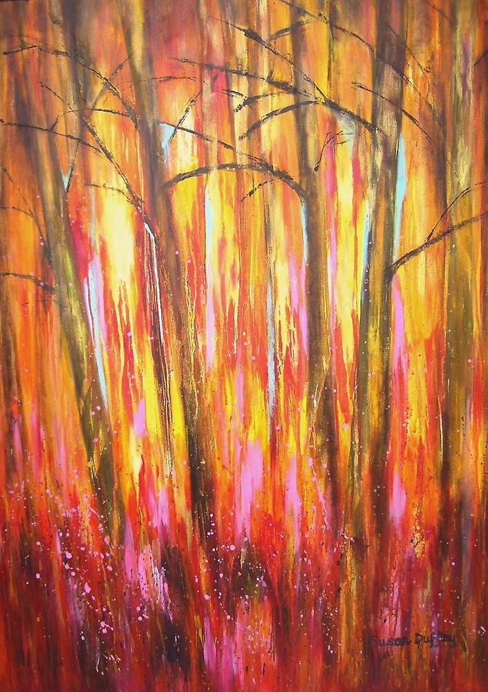 Autumn Trees by Susan Duffey