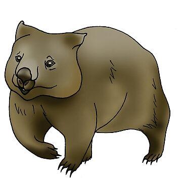 Wombat by Kel2