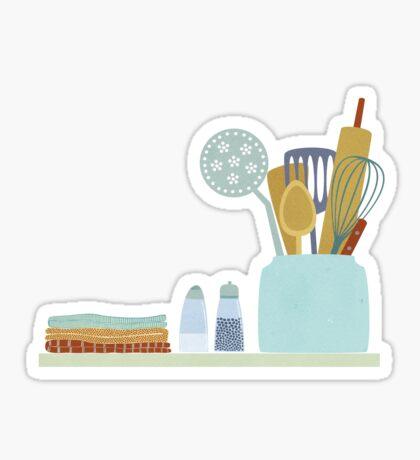 The Kitchen Shelf Sticker