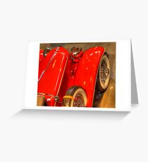 1931 Cord From Above Greeting Card