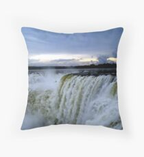 Iguazu Sunset Throw Pillow