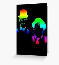 Stan Laurel, Oliver Hardy Greeting Card