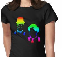 Stan Laurel, Oliver Hardy Womens Fitted T-Shirt