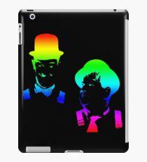 Stan Laurel, Oliver Hardy iPad Case/Skin