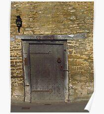 Medieval Door, Castle Combe Poster
