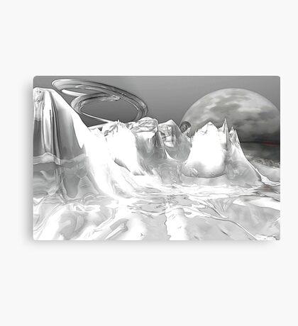 White World (not grungy) Metal Print