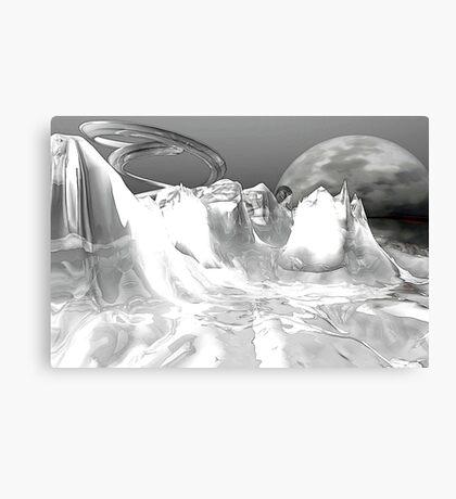 White World (not grungy) Canvas Print