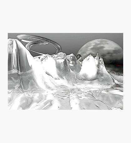 White World (not grungy) Photographic Print