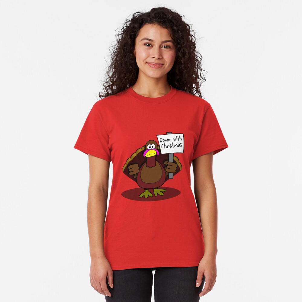 Down With Christmas Classic T-Shirt
