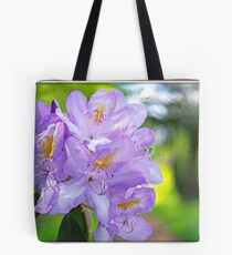 Violet Rhododendron Tote Bag