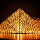 The Louvre by Alison  Brown