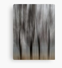 Four Trees - Abstract Metal Print