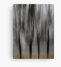Four Trees - Abstract Canvas Print