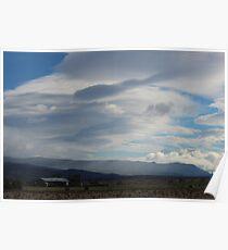 Cressy rain  (Tasmania) Poster