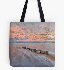Ocean Grove Beach HDR Tote Bag