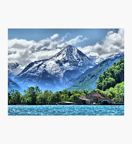 Lake Lucerne. Photographic Print