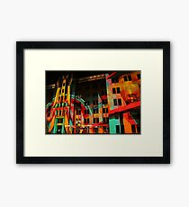 Psychedelic Industrial Museum, Sydney Framed Print