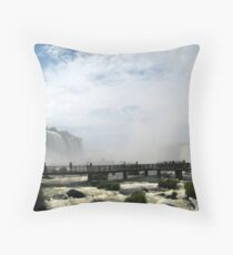 Iguazu Falls Throw Pillow