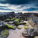 Rocks at Currumbin by Ryan O'Donoghue