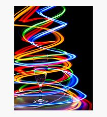 Neon Trails Photographic Print
