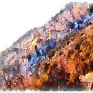 Sacro Speco San Benedetto: landscape by Giuseppe Cocco