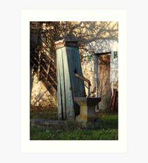 Water Well, Graz, Austria Art Print